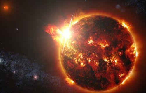 200 milyon derecelik yıldız patlaması!