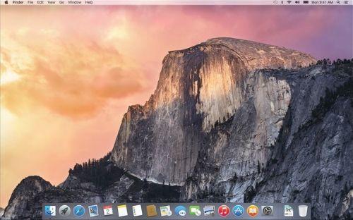 Mac OS X Yosemite genel özellikleri