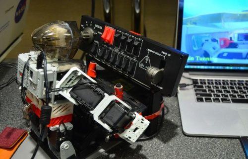 Robot pilot 'Pibot' uçuşa hazırlanıyor!