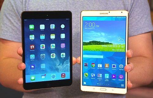 Samsung tablet satışlarında Apple'a yaklaşıyor