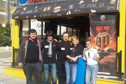 Wargaming İstanbul'da oyuncularıyla buluştu