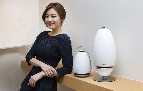Samsung'dan ilginç tasarımlı stereo hoparlörler