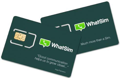 WhatsApp'dan internet olmadan sohbet imkanı sağlayan WhatSim geliyor