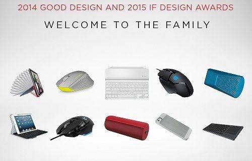 Logitech'e 10 Prestijli Tasarım Ödülü