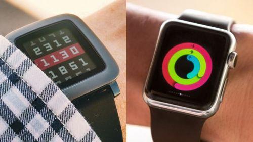 Apple Watch ve Pebble Time Steel karşılaştırması