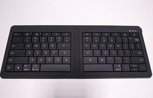 MWC 2015: Microsoft'tan Bluetooth destekli katlanabilir klavye