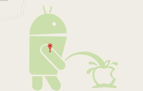 Google'dan Apple'a ağır hakaret!