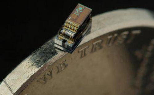 İşte pirinç tanesinden bile küçük bilgisayar Micro Mote!