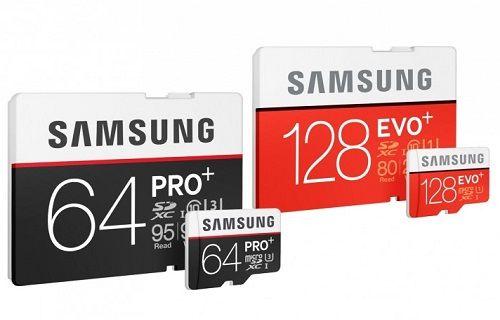 Samsung'un iki yeni bellek kartı: EVO Plus ve PRO Plus