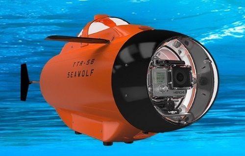 GoPro kameralar için uzaktan kumandalı denizaltı: TTR-SB Seawolf