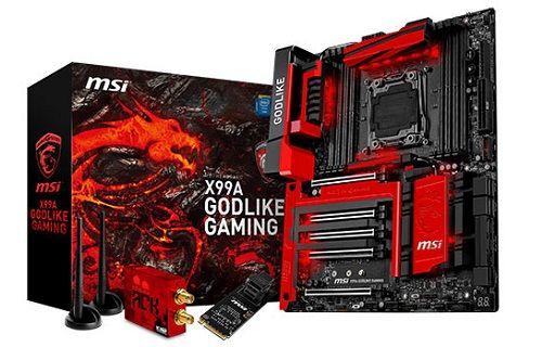 """MSI """"X99A GodLike Gaming"""" Anakartına Yakından Bakalım"""