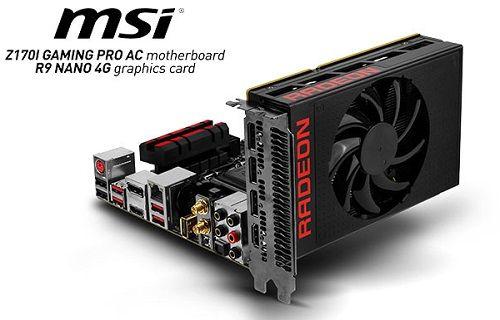 MSI R9 NANO 4G küçük ama etkili!