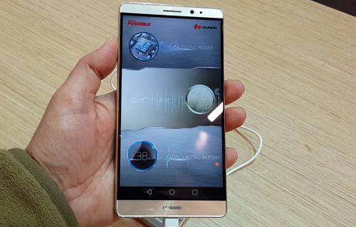CES 2016: Huawei Mate 8 Ön İnceleme
