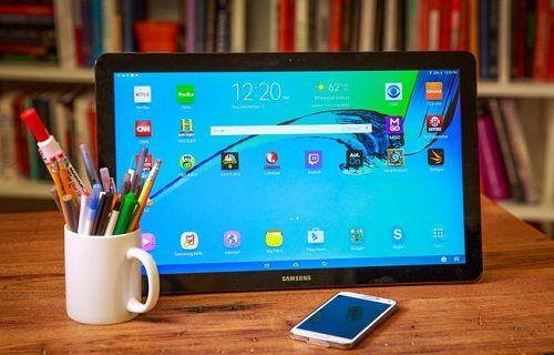 Samsung'un dev ekranlı tableti Galaxy View'ın fiyatı bir kez daha düştü
