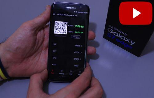 Samsung Galaxy S7 Edge İnceleme Benchmark Testleri