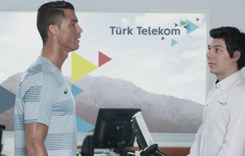 Türk Telekom Ronaldo'yu Fiber Güçlü GiGA 4.5G ile hızlandırıyor
