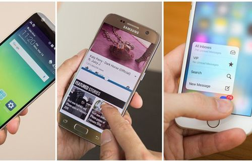 LG G5 vs Galaxy S7 vs iPhone 6s: Görselli arayüz karşılaştırması
